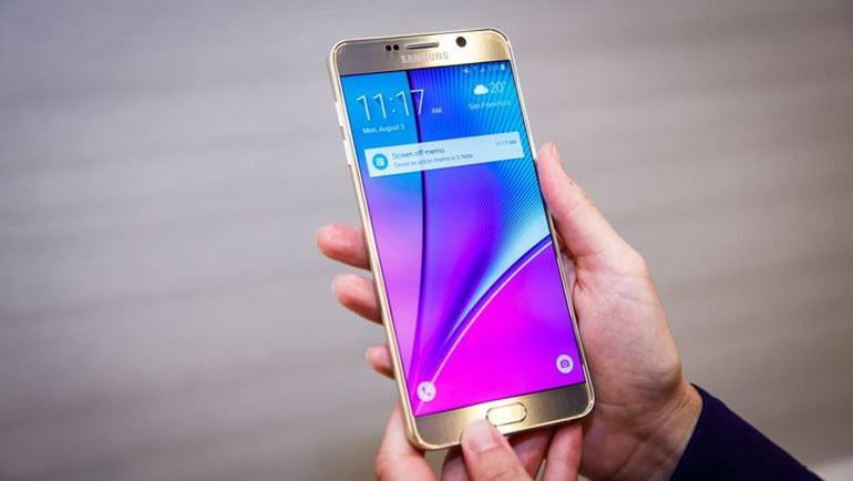 Galaxy Note 5 güncellemesinden ipucu