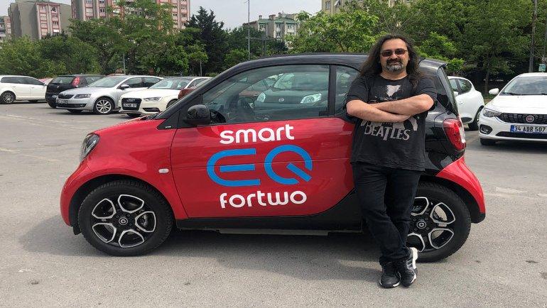 Smart EQ Fortwo test merkezimizde!