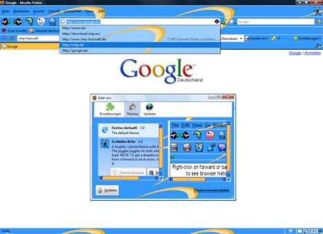 Mozilla Firefox için Temalar